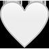 white heart image
